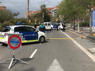 Control de trànsit de la Guàrdia Urbana