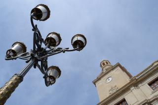 Fanal plaça del Mercadal i Palau Municipal
