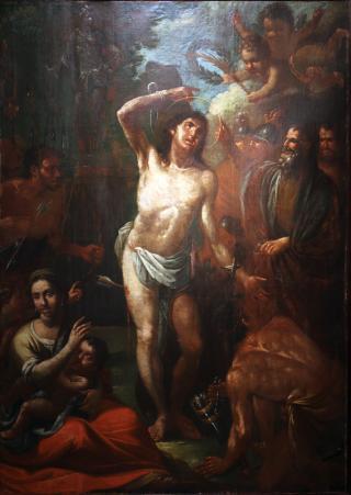 Sant Sebastià oli Museu de Reus
