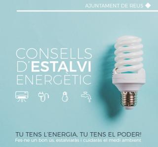Imatge díptic Consells d'estalvi energètic