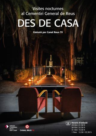 Visites nocturnes cementiri des de casa