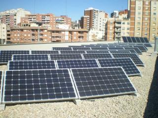 Instal·lació municipal de plaques fotovoltaiques