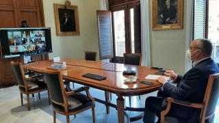 Reunió alcaldes Cádiz, Girona, Lleida, Madrid, Reus, Santa Cruz de Tenerife, Torrelavega, Pamplona, Valencia i Zaragoza