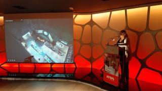 Montserrat Caelles ha presentat les novetats al Gaudí Centre