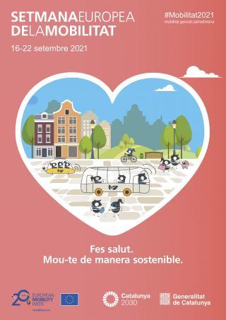 Cartell Setmana Europea de la Mobilitat 2021
