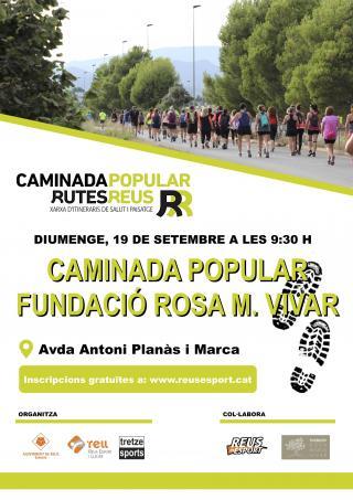 Caminada Popular per l'Alzheimer-Fundació Rosa M. Vivar