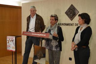 Imatge de la presentació de la 12ª Marató de Donació de Sang de Reus