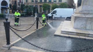 Imatge de neteja de la via pública a Reus