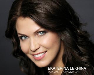 La soprano Ekaterina Lékhina