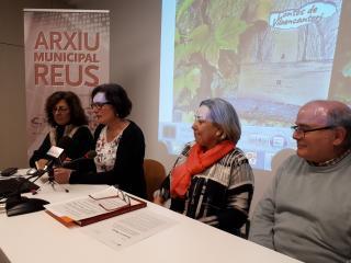 Imatge de l'acte de presentació de les dues noves ARE a l'Arxiu Muncipal