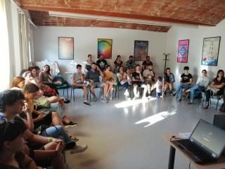 Sessió de formació