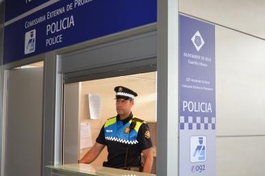 Guàrdia Urbana: Comissaria Externa de Proximitat a l'Aeroport de Reus