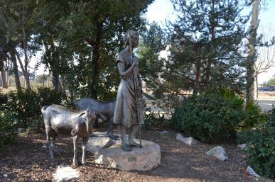 Estàtua de la Pastoreta (Jassans)