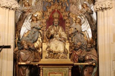Prioral de Sant Pere - Altar major
