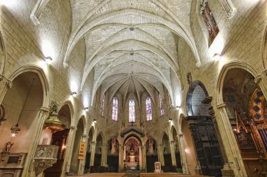 Prioral de Sant Pere - Interior