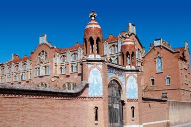 Institut Pere Mata - Exterior