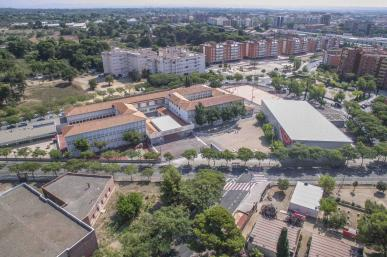 Instal·lacions exteriors del polilleuger Ciutat de Reus