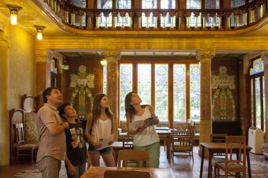Institut Pere Mata - Interior Sala