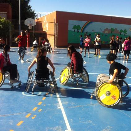 Accedeix a Activitats als centres educatius amb motiu dels VIII Jocs Catalans de l'Esport Adaptat