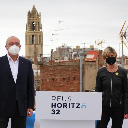 Accedeix a Roda de premsa d'inici del Pla Estratègic de Ciutat Reus Horitzó 32