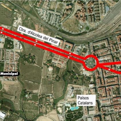 Accedeix a Imatge del trajecte de la línia 34 de bus de Reus