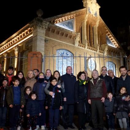 Accedeix a Inauguració il·luminació façana Prat de la Riba