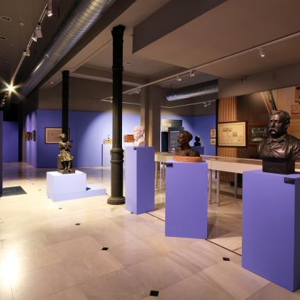 Accedeix a Imatge exposició 150 anys Centre de Lectura al Museu de Reus. Foto: FRANCESC FERNÁNDEZ.