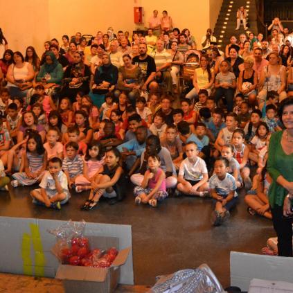Accedeix a Imatge de l'acte de cloenda realitzat a La Palma