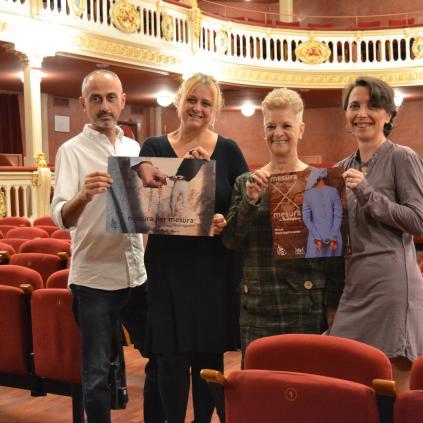 Accedeix a La presentació del nou espectacle del TEBAC s'ha fet al Teatre Bartrina
