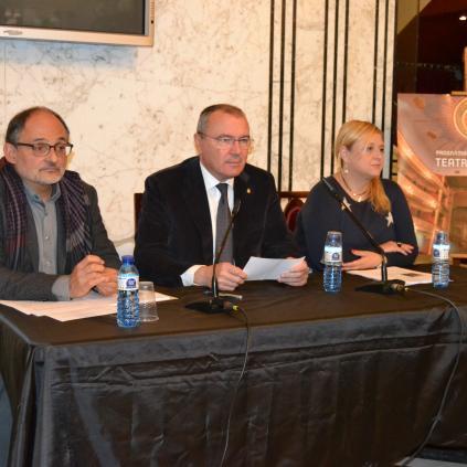 Accedeix a Imatge roda de premsa presentació Programació 1r semestre 2016 Teatre Fortuny de Reus