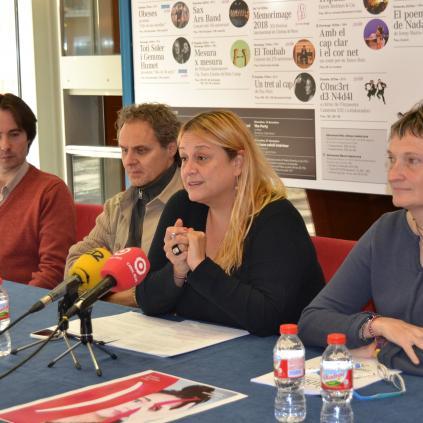 Accedeix a Presentació de la nova programació del Teatre Bartrina
