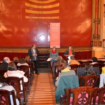 Accedeix a Imatge reunió Apropa Cultura al Teatre Fortuny de Reus