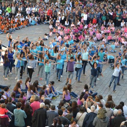 Accedeix a Imatge d'una edició passada dels actes commemoratius del Dia Internacional de la Dansa a Reus