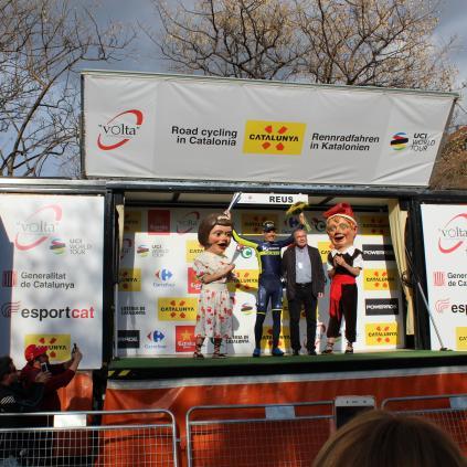 Accedeix a Reus acull el final de la sisena etapa de la Volta Ciclista a Catalunya