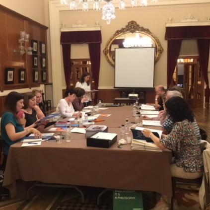 Accedeix a Imatge de la reunió de la Xarxa Transversal a Reus