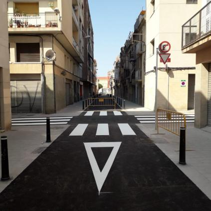Accedeix a Carrer Alt de Sant Pere remodelat