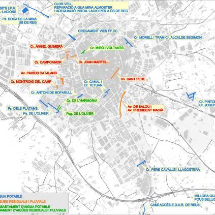 Accedeix a Plànol inversions Aigües de Reus 2020