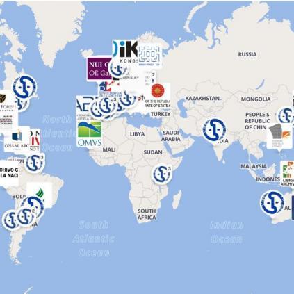 Accedeix a Mapa mundi amb els arxius ICA