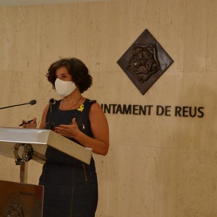 Accedeix a Montserrat Vilella, regidora de Benestar Social