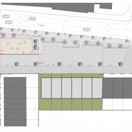 Accedeix a Projecte urbanització zona verda carrer Miami