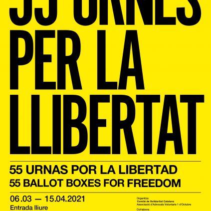 Accedeix a Cartell 55 Urnes per la Llibertat