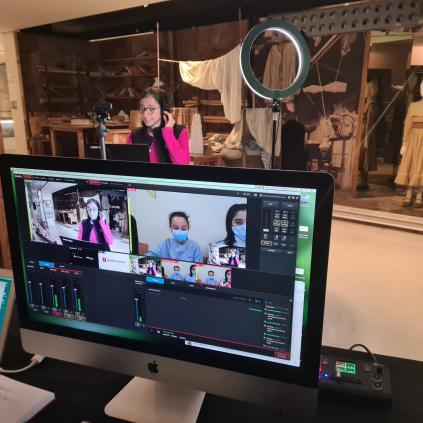 Accedeix a Visites virtuals en directe al Gaudí Centre per a escolars