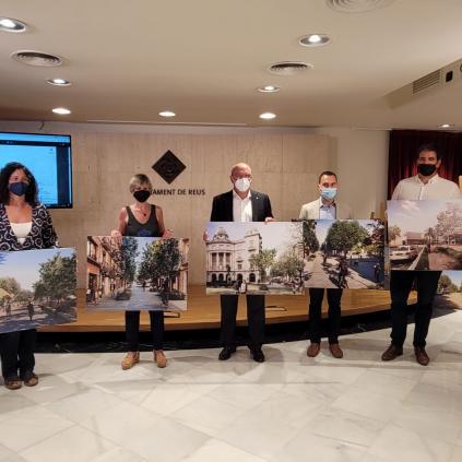 Accedeix a Presentació transformació passeig Mata carrer Ample