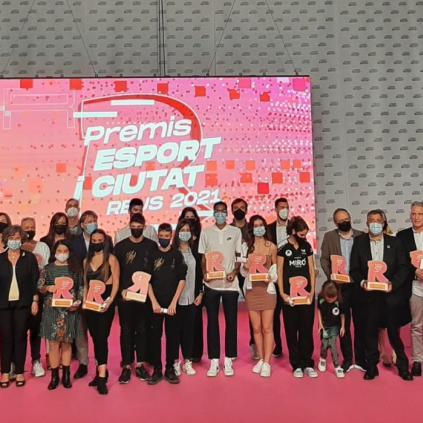 Accedeix a Guanyadors Premis Esport i Ciutat 2021
