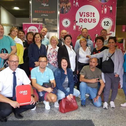 Accedeix a Imatge de la visita dels agents de viatges d'Alemanya a Reus