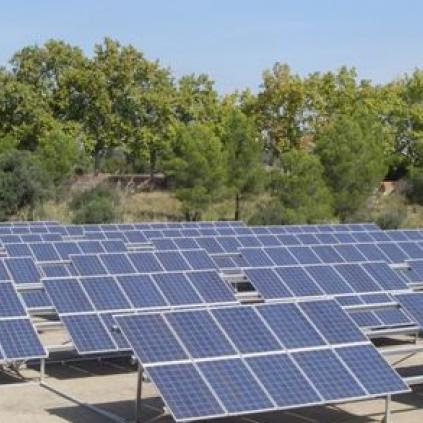 Accedeix a Plaques solars als dipòsits de l'ETAP