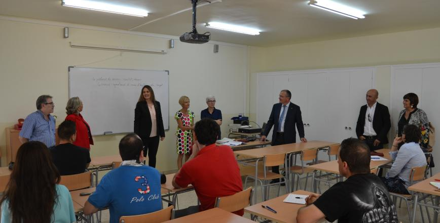 Inauguració de curs del Centre de Formació d'Adults Reus