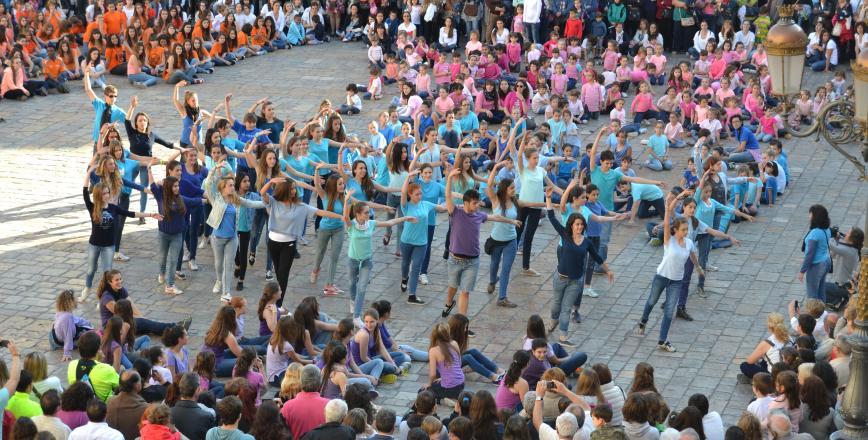 Imatge d'una edició passada dels actes commemoratius del Dia Internacional de la Dansa a Reus