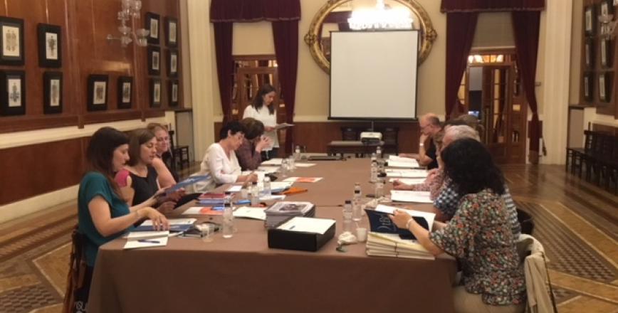 Imatge de la reunió de la Xarxa Transversal a Reus