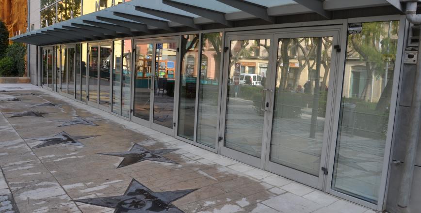 Façana Teatre Bartrina plaça del Teatre